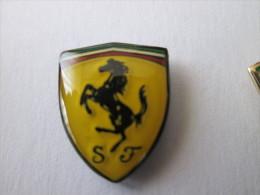 Ferrari Pin Ansteckknopf Lackiert - Ferrari
