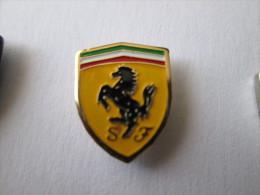 Ferrari Pin Ansteckknopf Emailliert - Ferrari