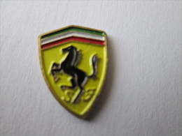 Ferrari Pin Ansteckknopf Gestanzt - Ferrari