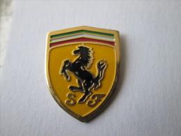 Ferrari Pin Ansteckknopf Mittel Emailliert - Ferrari
