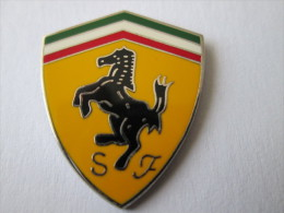 Ferrari Pin Ansteckknopf Groß Emailliert - Ferrari