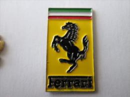 Ferrari Pin Ansteckknopf Gestanzt Rechteckig - Ferrari