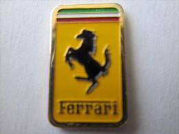 Ferrari Pin Ansteckknopf Emailliert Rechteckig - Ferrari