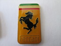 Ferrari Pin Ansteckknopf Lackiert Rechteckig - Ferrari