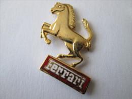Ferrari Pin Ansteckknopf Goldfarben - Ferrari