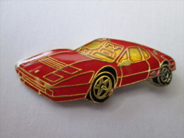 Ferrari Pin Ansteckknopf Fahrzeug Rot Lackiert - Ferrari