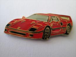 Ferrari Pin Ansteckknopf Fahrzeug Rot - Ferrari