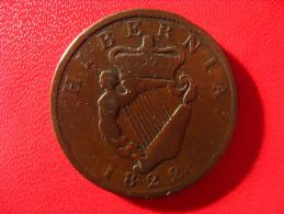 Ireland - Half Penny 1822 3980 - Ireland