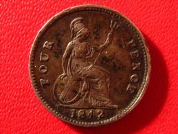 Grande-Bretagne - UK - 4 Pence/groat 1842 Victoria 4067 - 1816-1901 : Frappes XIX° S.