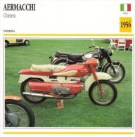 Aermacchi Chimera   - 1956   -  Fiche Technique Moto (Italie) - Otros