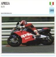 Aprilia RS250   - 1995   -  Fiche Technique Moto (Italie) - Otros