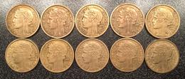 Monnaie Française 10 Pièces 2 Francs 1938 Morlon - Frankreich