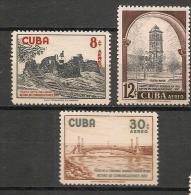 CUBA - Posta Aérienne - Air Mail  - Yvert # A 175/7 -  * MINT (Light Trace Of Hinge) - Airmail