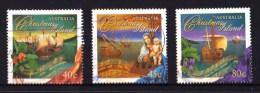 Christmas Island 1996 Christmas Set Of 3 Used - - Christmaseiland