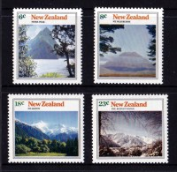 New Zealand 1973 Mountain Scenery Set Of 4 MNH - New Zealand