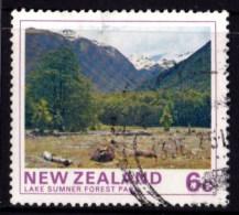 New Zealand 1975 Forest Park Scenes 6c Lake Sumner Used - New Zealand