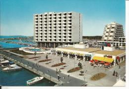 34 - LA GRANDE MOTTE - Un Coin Du Port Et L'Hôtel Frantel - France