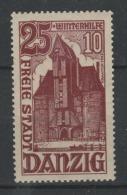 ALLEMAGNE - 1936 - Freie Stadt DANZIG  - * - Michel 264 - Valeur  20€ - Dantzig