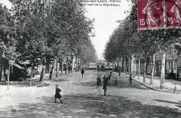 [58] Nièvre> Cosne Cours Sur Loire Boulevard De La République - Cosne Cours Sur Loire