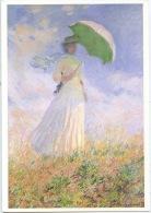 Claude Monet (1840/1926)  Femme à L'ombrelle Tournée Vers La Droite 1886 Huile Sur Toile (musée Orsay Paris) - Peintures & Tableaux