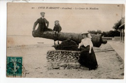 33 - ARCACHON . LE CANON DU MOULLEAU - Réf. N°10704 - - Arcachon