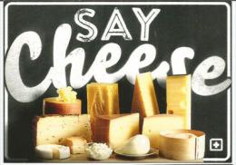 SUISSE. Say Cheese ! (plus De 450 Fromages Fromages Produits En Suisse),  Carte Postale Non Circulée - Cultures
