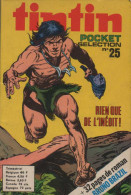 TINTIN POCKET SELECTION N° 25 BE LOMBARD 09-1974 - Petit Format