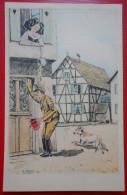 """ALSACE Guerre 39/45 Illustrateur J JAEGY """"N°3 - L'ALSACE GENEREUSE""""  Ed J JAEGY - Non Classés"""