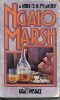"Fontana 1978 A Roderick Alleyn Mystery Ngaio Marsh "" Grave Mistake "" - Drames"