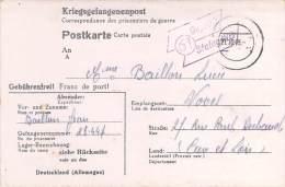 Stalag III B  Germany WWII POW FREE SHIPPING Camp Prisoner Of War Censor Censorship Censuur Geprüft KRIEGSGEFANGENENPOST - Allemagne