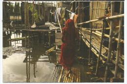 Le Grand Bidonville De Kamrangirchar (Bangladesh),  Carte Postale De Soutien à Médecins Sans Frontières. - Bangladesh