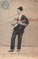 66 - PERPIGNAN  -  Musicien - Guitariste  Catalan - 1903 - Dos  Précurseur- 2 Scans - Perpignan