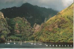 Polynésie - Les Marquises -  Baie Des  Vièrges Ou De Hanavave - île De Fatu Hiva - Polynésie Française