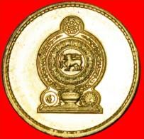★SUN & MOON: SRI LANKA ★5 RUPEES 2009 UNC! LOW START ★ NO RESERVE! - Sri Lanka