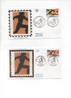 2745 FRANCE GRECE  JEUX OLIMPIQUE ETE 1992 - Joint Issues
