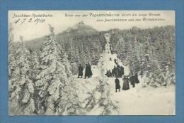 JESCHKEN RODELBAHN / REICHENBERG - ANTICA PISTA DI SLITTINO - VIAGGIATA 1910 - Schlesien