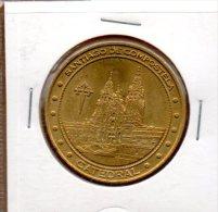 Monnaie De Collection Espagne : Santiago De Compostela Catedral - 2011 - Touristiques