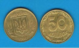 UCRANIA -  50 Kopija  1992  KM3 - Ukraine