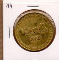 Monnaie De Collection FranceMédailles : Téléthon 2008 - Tourist