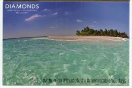 DIAMONDS ATHURUGA, Athuruga Island, Belle Carte Postale Non Circulée - Maldives