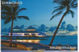 Diamonds Athuruga, Luxury Hotel In Maldives, Athuruga Island, Belle Carte Postale Non Circulée - Maldives