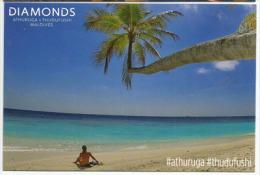 Diamonds Resorts Hotel, Thudufushi Island In Maldives,treasured Moments ! Carte Postale Non Circulée - Maldives