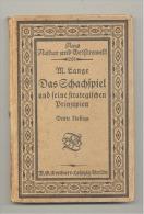 Livre En Allemand De 1918 - Jeu D´échec- Loisir  (Mi5) - Livres, BD, Revues