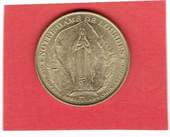 MEDAILLE DE PARIS NOTRE DAME DE LOURDES JUBILAEUM 2000 EN BON ETAT - Monnaie De Paris