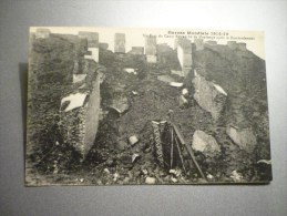 Un Fort Du Camp Retranché De Maubeuge Après Le Bombardement - Maubeuge