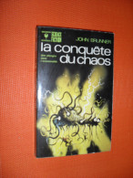 JOHN BRUNNER .. La Conquête Du Chaos ..  Marbout S-F  442  EO   /ct27 - Marabout SF
