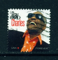 USA  -  2013  Ray Charles  Forever  Used As Scan - Vereinigte Staaten