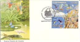 COLOMBIA 2002.02.01 F.D.C.: Riquezas Naturales De Colombia (1/4) - Colombia