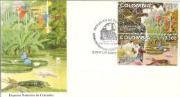 COLOMBIA 2002.02.01 F.D.C.: Riquezas Naturales De Colombia (4/4) - Colombia