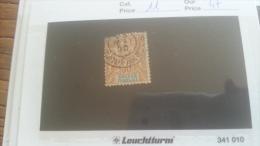 LOT 267730 TIMBRE DE COLONIE SOUDAN OBLITERE N�11 VALEUR 47 EUROS